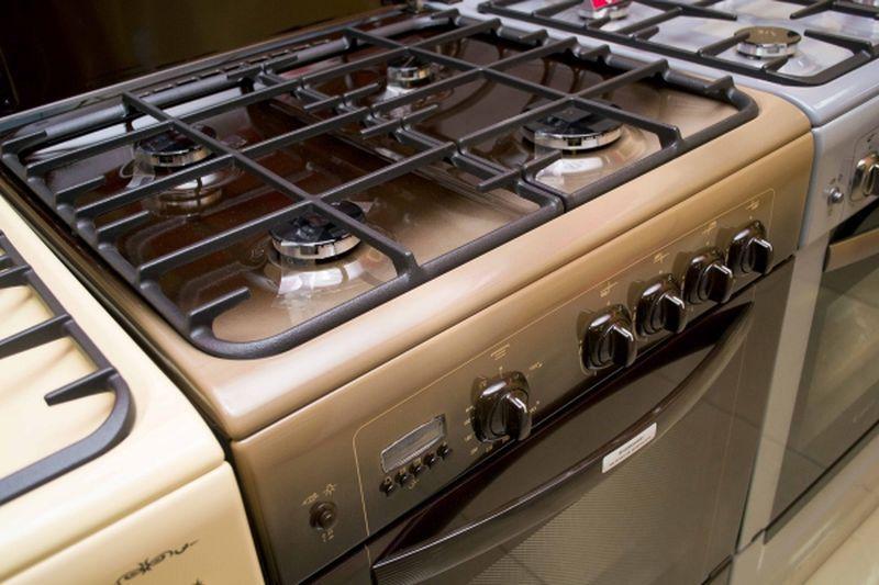 Газовая плита Gefest 6100-04 0001 (6100-04 K) - конфорки