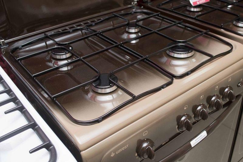 Газовая плита Gefest 1200 С7 К19 - конфорки