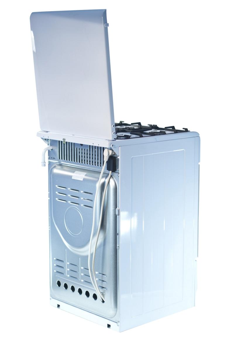 3D модель: Газоэлектрическая плита Gefest 5102-03 0023 вид сзади