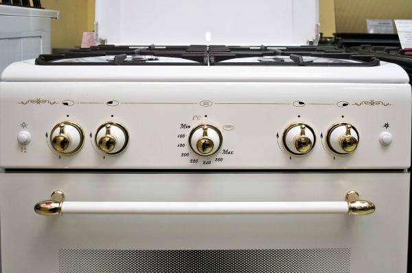 Газовая плита Gefest 6100-02 0085 - панель управления