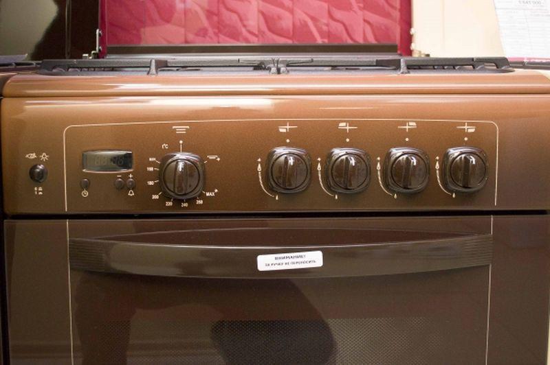 Газовая плита Gefest 6100-03 0001 (6100-03 К) - панель управления
