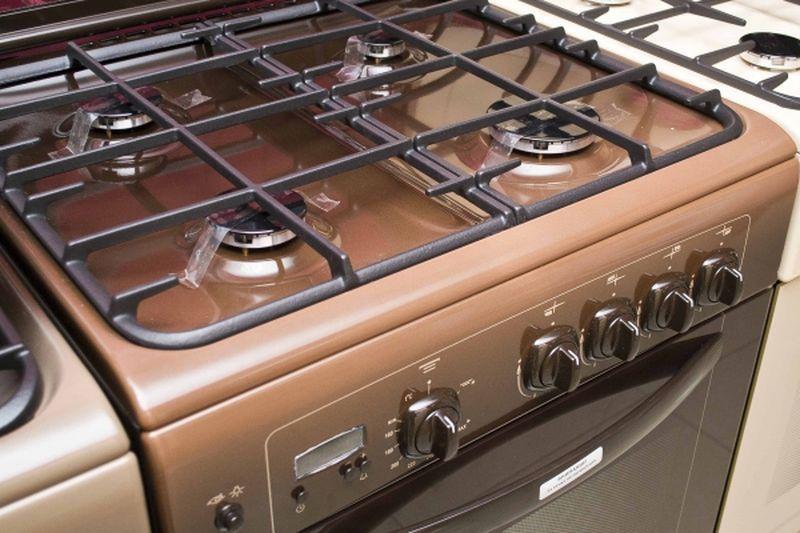 Газовая плита Gefest 6100-03 0001 (6100-03 К) - конфорки
