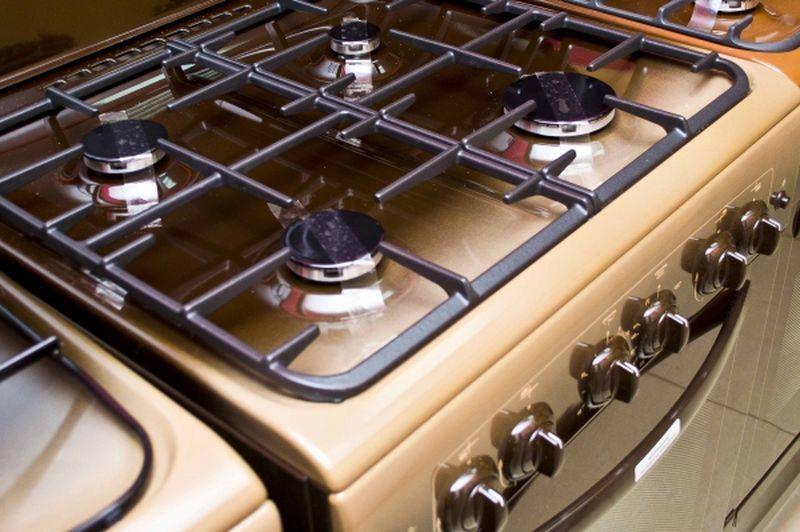 Газовая плита Gefest 6100-02 0001 (6100-02 К) - конфорки