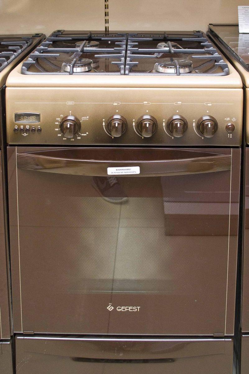 Газовая плита Gefest 5100-04 0001 (5100-04 К) - фасад
