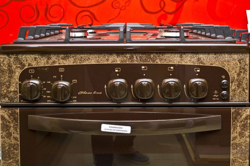 Газовая плита Gefest 1500 К19 - панель управления