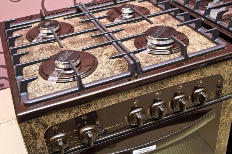 Газовая плита Gefest 1500 К19 - конфорки