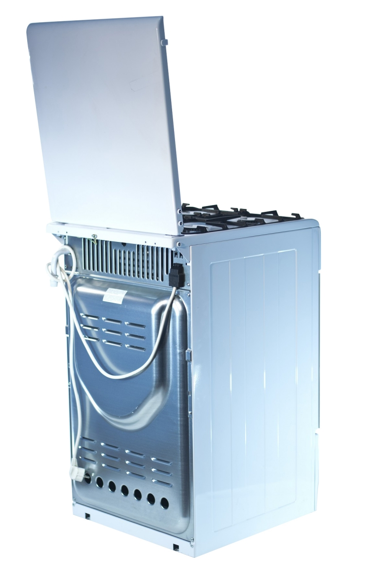 3D модель: Газоэлектрическая плита Gefest 5102-03 вид сзади