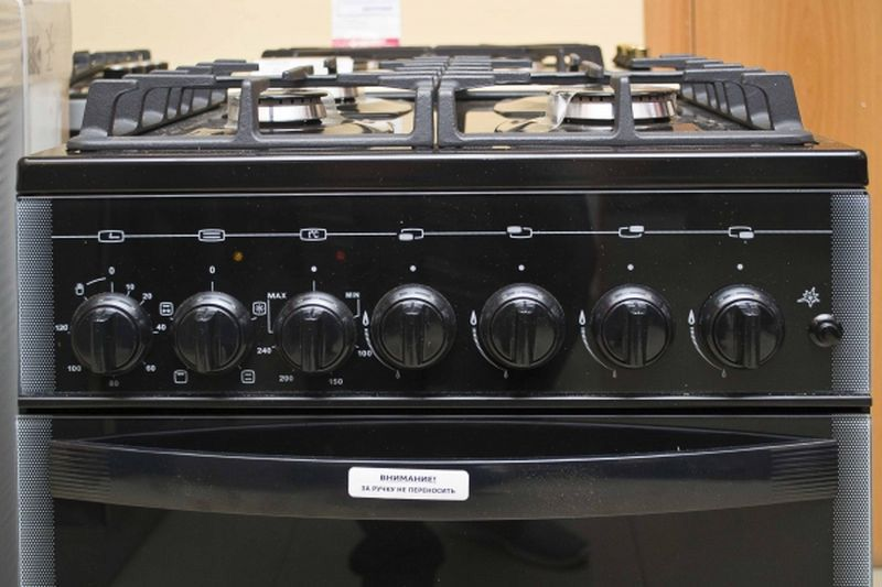 Газовая плита Gefest 5500-02 0044 - панель управления