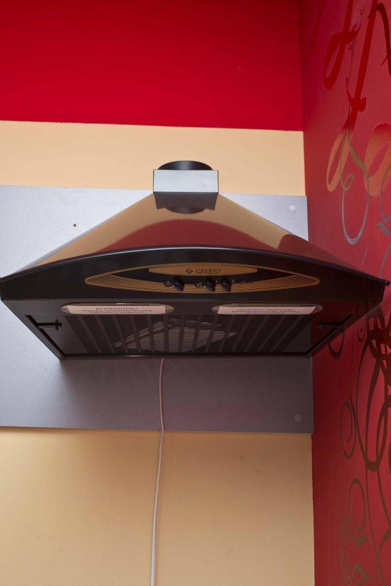 Кухонная вытяжка Gefest ВВ-2 К17 - фасад