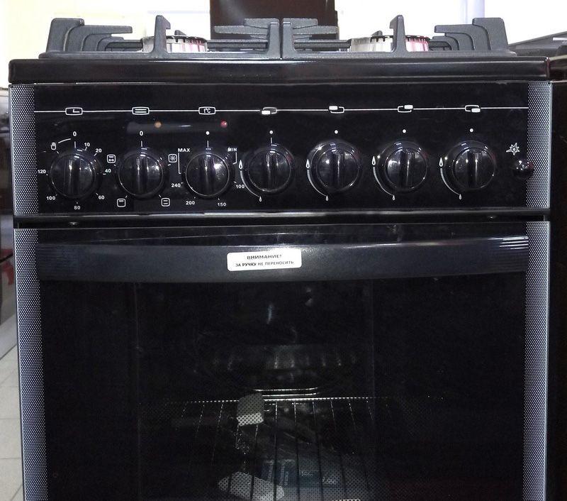 Газоэлектрическая плита Gefest 5502-02 0044 - панель управления