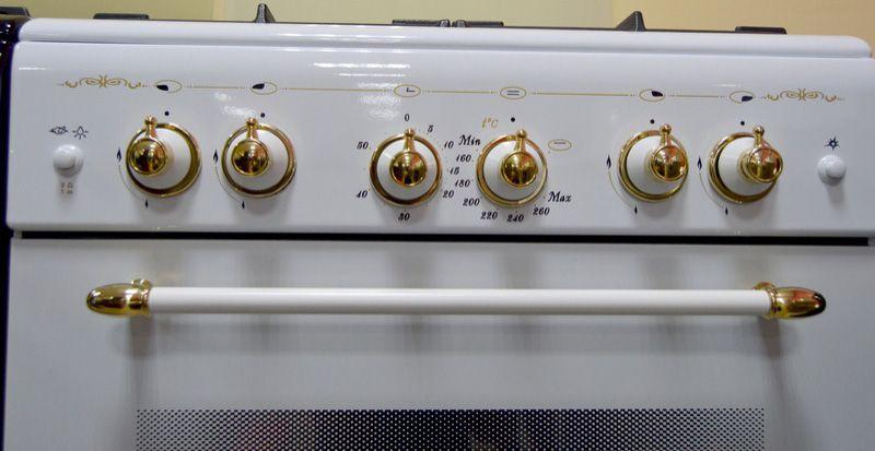 Газовая плита Gefest 6100-02 0081 - панель управления