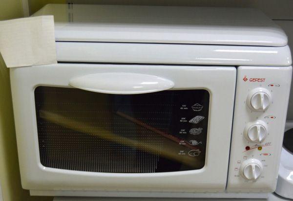 Настольная плита Gefest ЭПНс Д420 - фасад