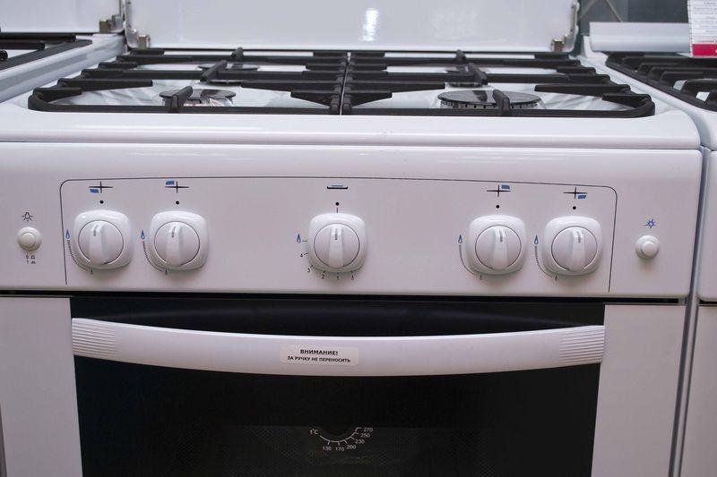 Газовая плита Gefest 6100-01 - панель управления