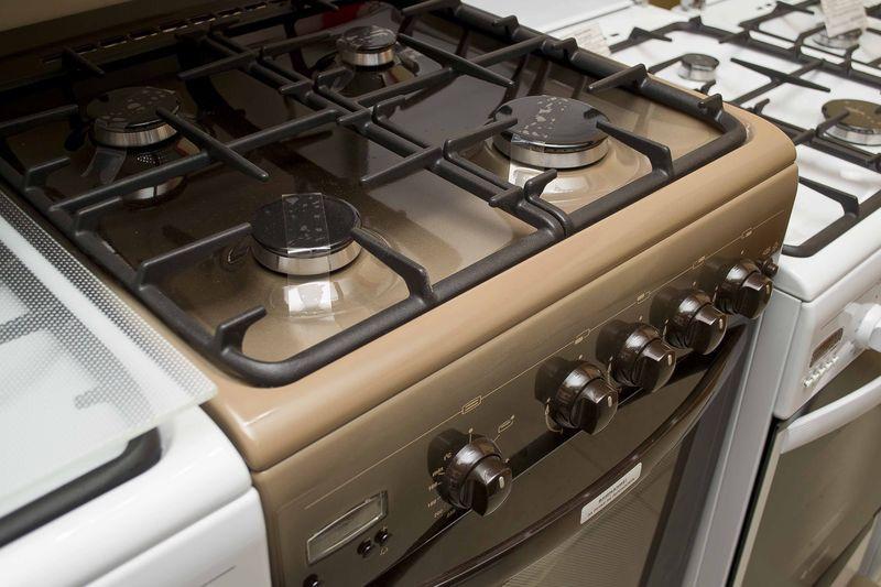 Газовая плита Gefest 5100-03 0001 (5100-03 К) - конфорки