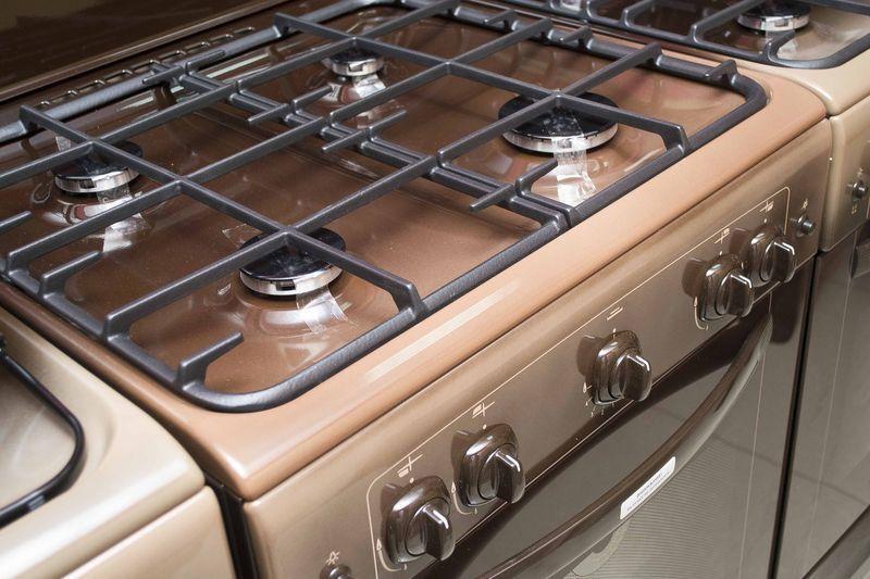 Газовая плита Gefest 6100-01 0001 (6100-01 К) - конфорки