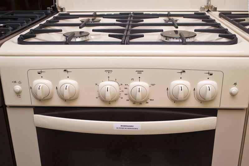 Газовая плита Gefest 6100-02 0067 - панель управления