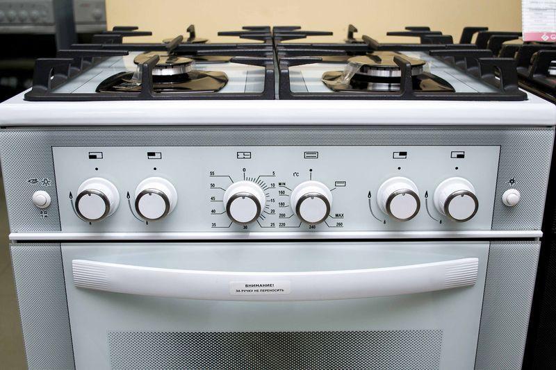 Газовая плита Gefest 6500-02 0042 (6500-02 Д3) - панель управления