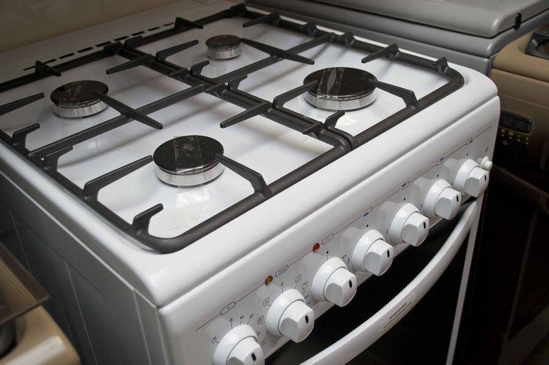 Газоэлектрическая плита Gefest 5102-02 - конфорки
