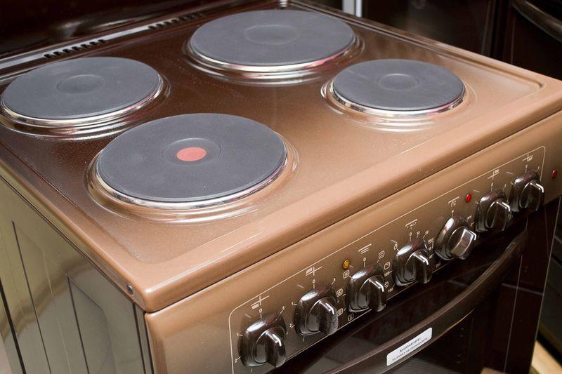 Электрическая плита Gefest 6140-02 0001 (6140-02 К) - конфорки