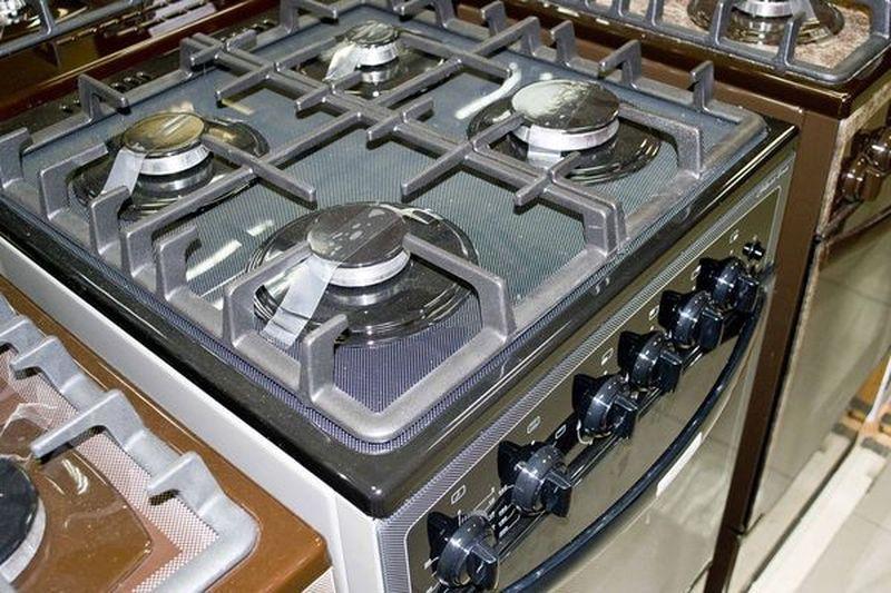 Газовая плита Gefest 3500 К32 - конфорки