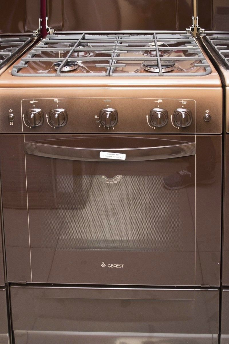 Газовая плита Gefest 6100-01 0001 (6100-01 К) - фасад