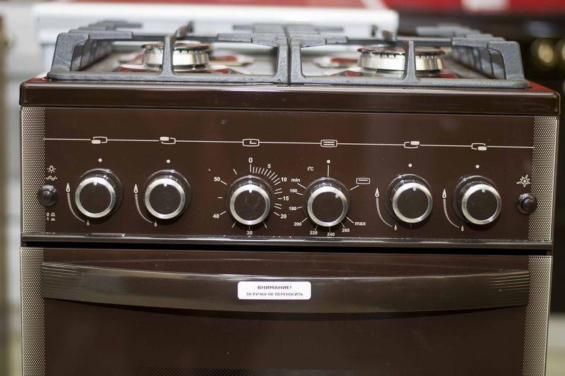 Газовая плита Gefest 5500-02 0045 - панель управления