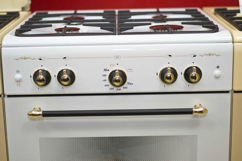 Газовая плита Gefest 6100-02 0088 - панель управления