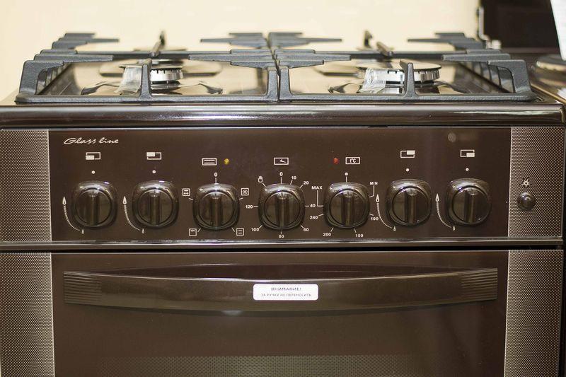 Газоэлектрическая плита Gefest 6502-02 0045 (6502-02 д1к) - панель управления