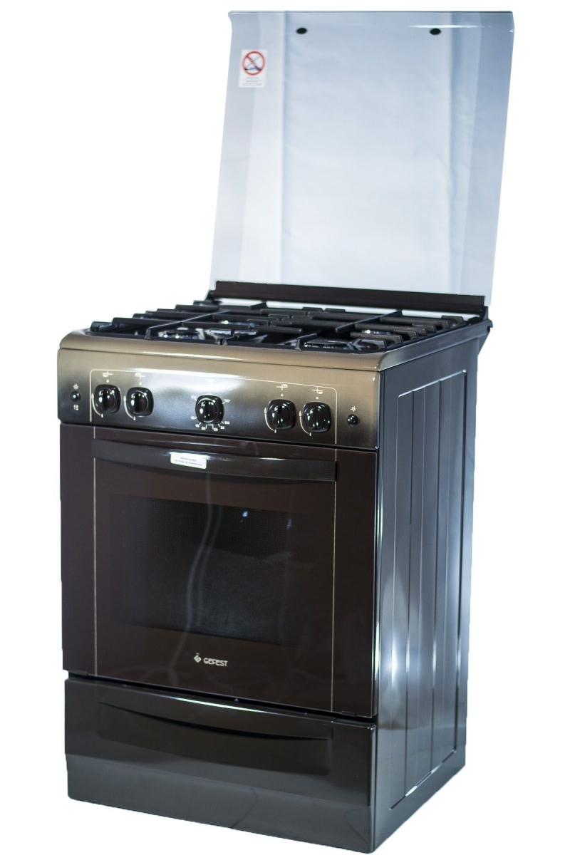 3D модель: газовая плита GEFEST  6100-02 0012 фасад и панель