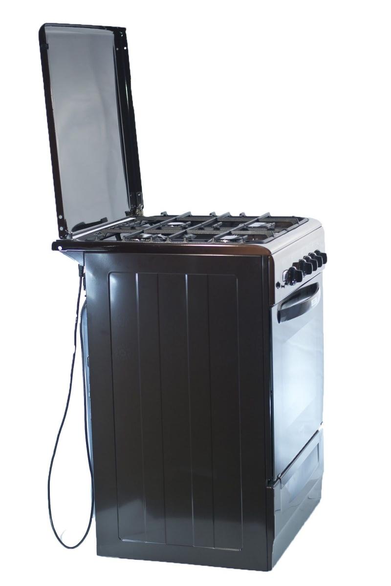 3D модель: газовая плита GEFEST  6100-03 0001 вид в полоборота