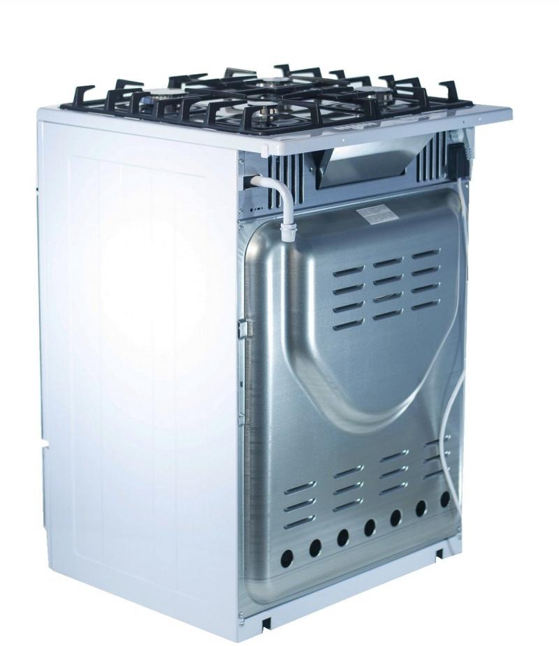3D модель: газовая плита Gefest 6500-02 0113 вид сзади