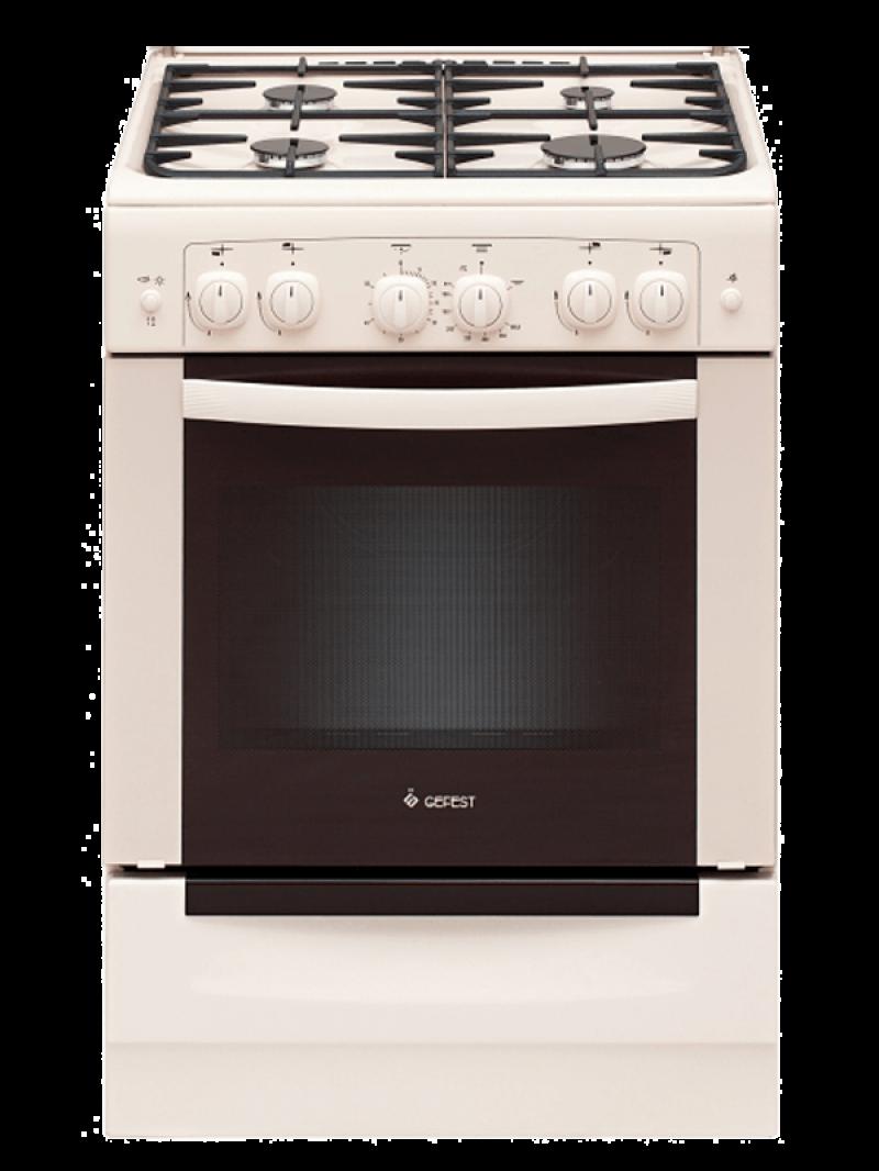 Газовая плита GEFEST 6100-02 0167 кремового цвета