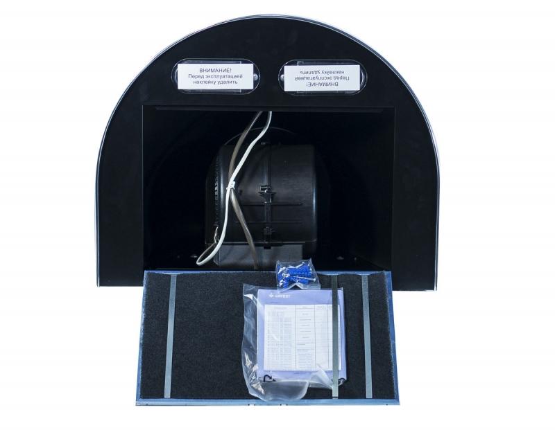 3D модель: кухонная вытяжка GEFEST 1603 К21 изнутри