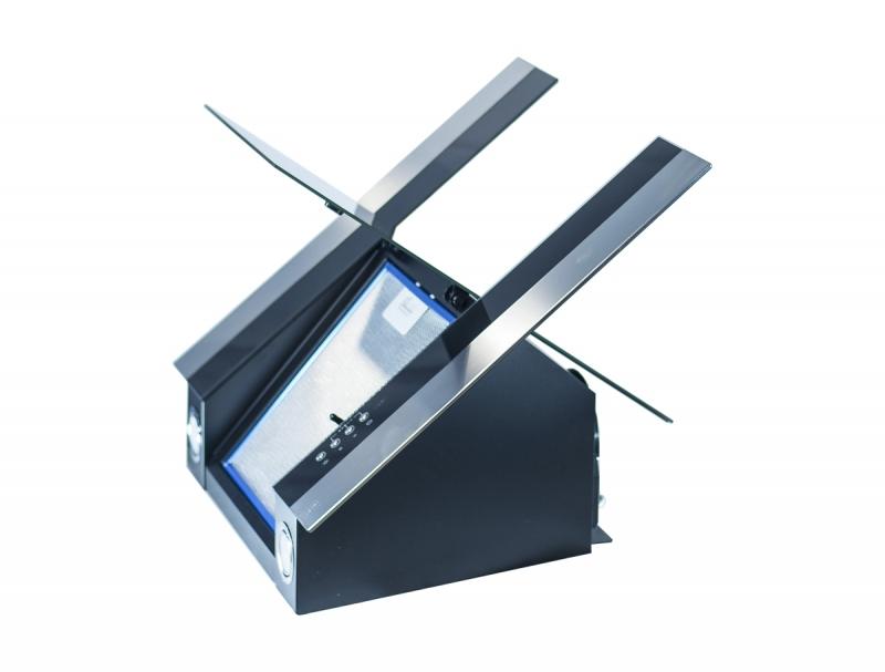 3D модель: кухонная вытяжка GEFEST 3603 Д3А вид сбоку