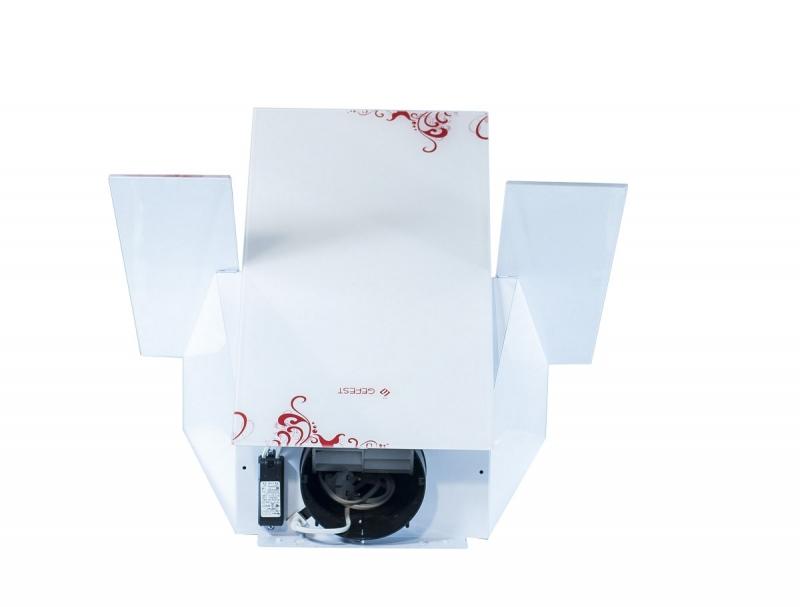 3D модель: кухонная вытяжка GEFEST 3603 К15 вид сверху