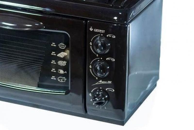 3D модель: настольная газовая плита GEFEST 100 К19 панель управления
