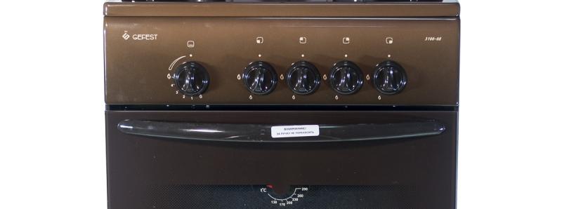 3D модель: Газовая плита Gefest 3100-08 К19 панель управления