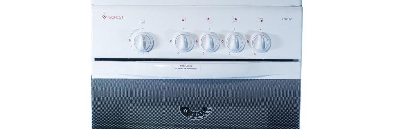 Газовая плита Gefest 3200-08 панель приборов