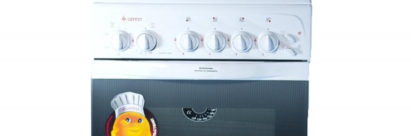 3D модель: Газовая плита Gefest 3200-05 панель управлени