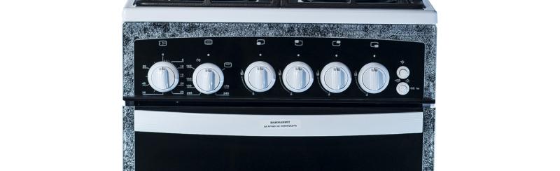 Газовая плита Gefest 3500 панель управления