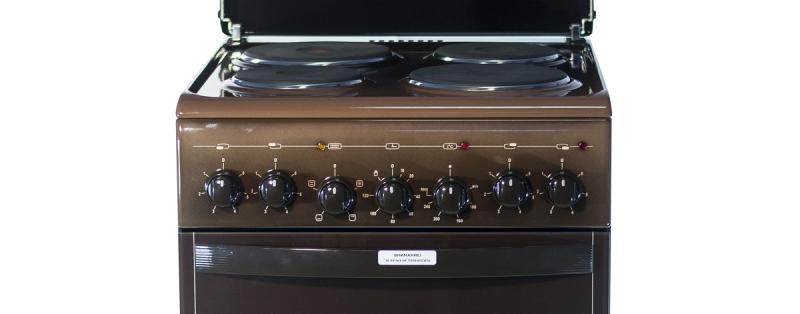 3D модель: Электрическая плита Gefest 5140-02 0038 панель управления