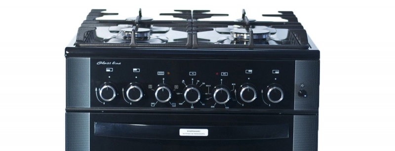 3D модель: Газоэлектрическая плита Gefest 6502-02 0044 панель управления