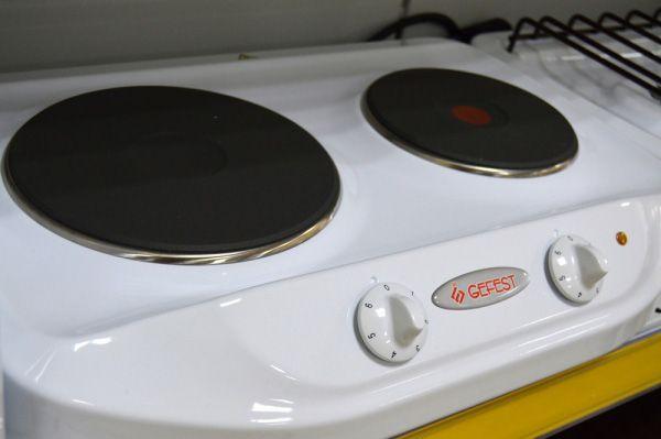Настольная плита Gefest ПЭ 720 - панель управления
