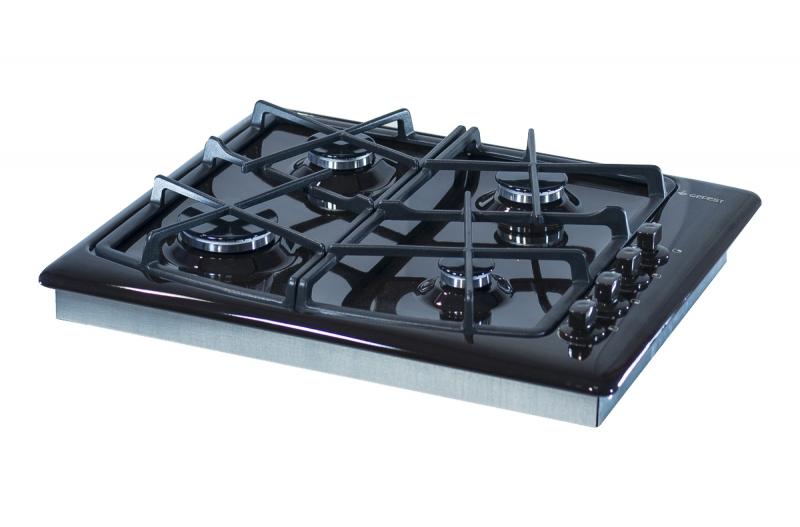 3D модель: варочная панель GEFEST 1211 К21 вид вполоборота