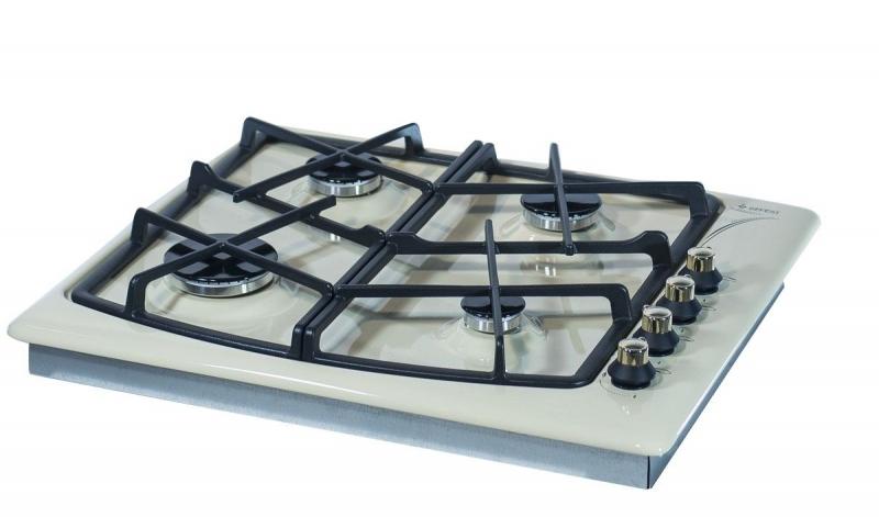 3D модель: варочная панель GEFEST 1211 К61 вид вполоборота