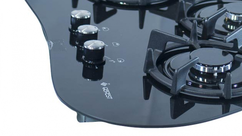 3D модель: варочная панель GEFEST 2120 панель управления