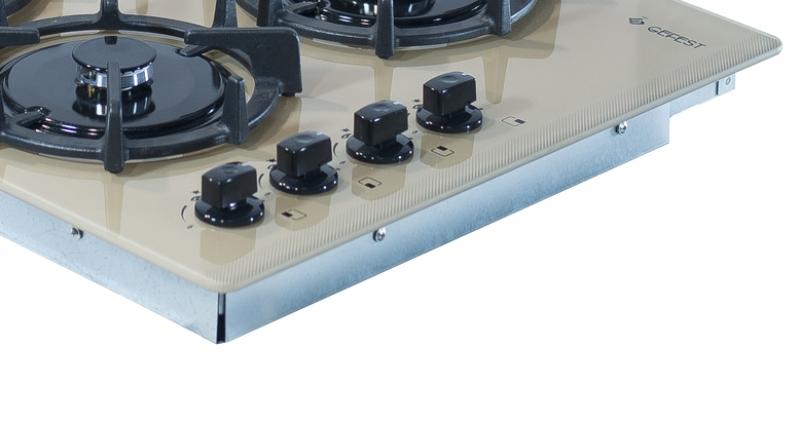 3D модель: варочная панель GEFEST 2230 К10 панель управления