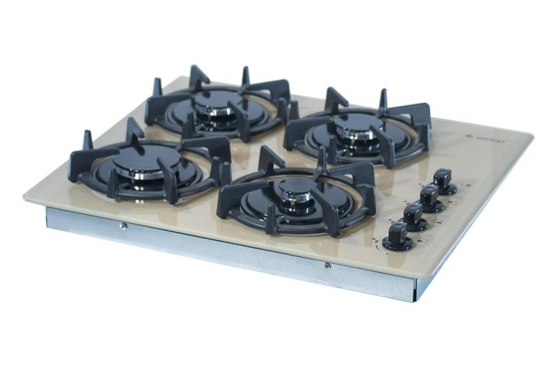 3D модель: варочная панель GEFEST 2230 К10 вид вполборота