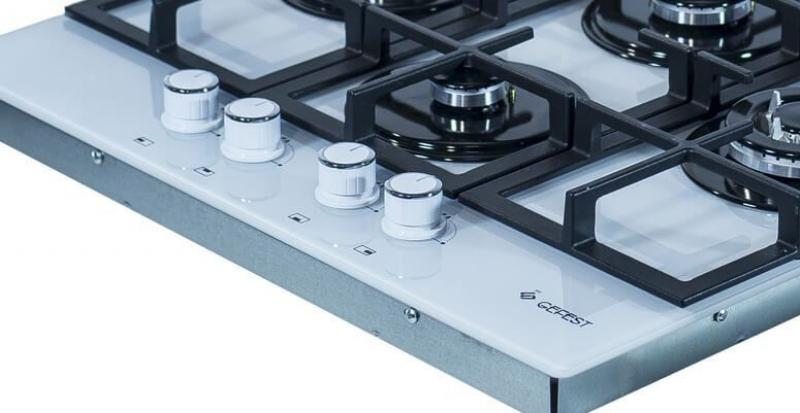 3D модель: варочная панель GEFEST 2231-01 К12 панель управления