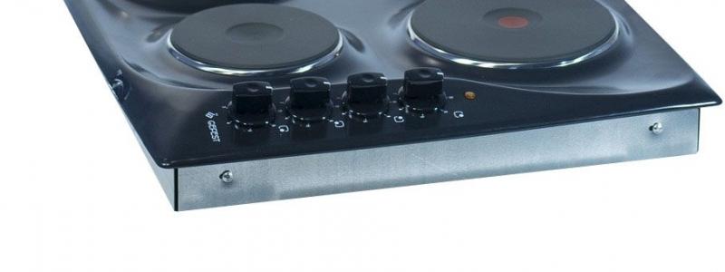 3D модель: электрическая варочная панель GEFEST 3210 К21 панель управления